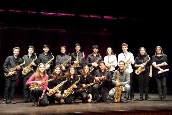 Conservatório Regional de Palmela - Saxofones.