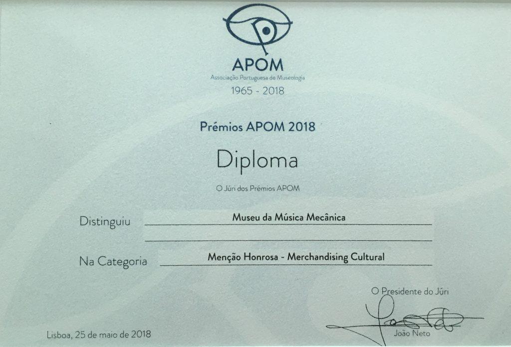 Diploma APOM 2018